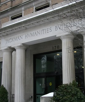 An image of the Jackman Humanities Building