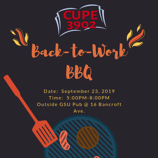 Back to Work BBQ 2019